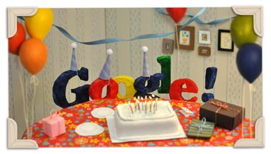 google 13th birthday